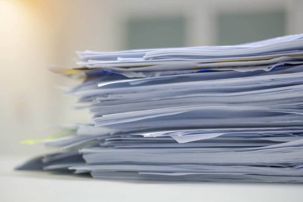 come ridurre il consumo di carta