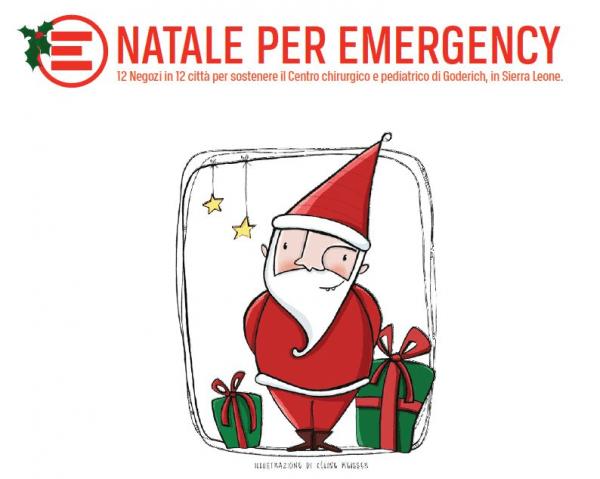 Emergency Regali Di Natale.Regali Con Il Cuore Emergency E I Negozi Di Natale Non Sprecare