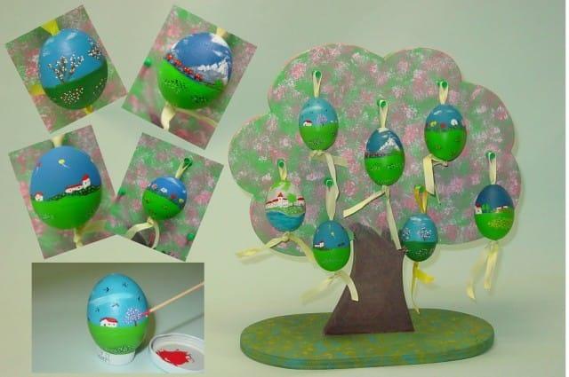 albero di Pasqua di nonno Carlo