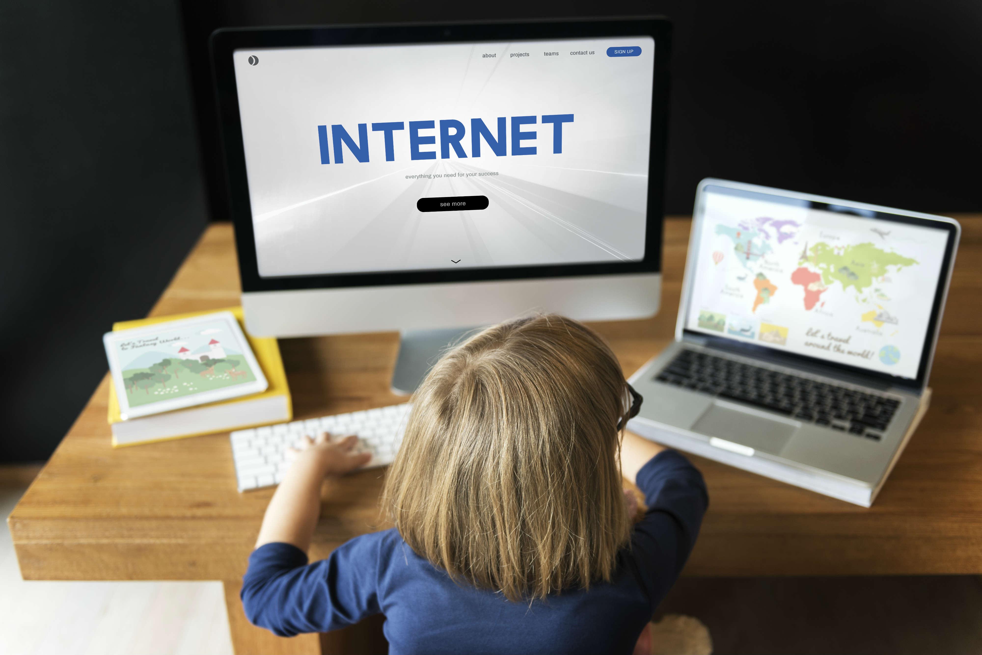 rischi del web per i bambini