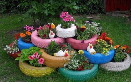 Idee Originali Giardino Riciclo Creativo Tante Idee Originali Per
