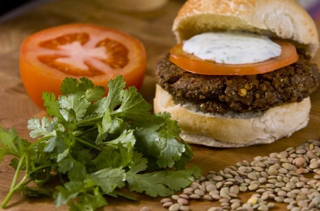 ricetta burger di lenticchie