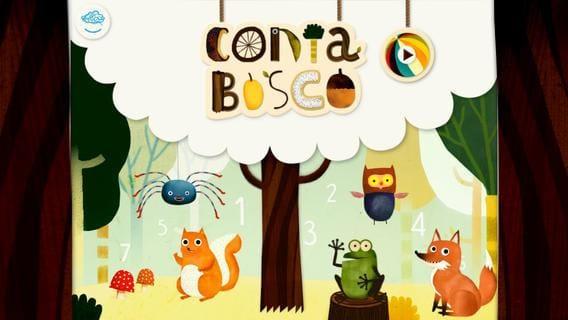 Contabosco: la app che insegna ai bambini la matematica
