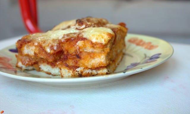 Ricetta lasagne con pane avanzato