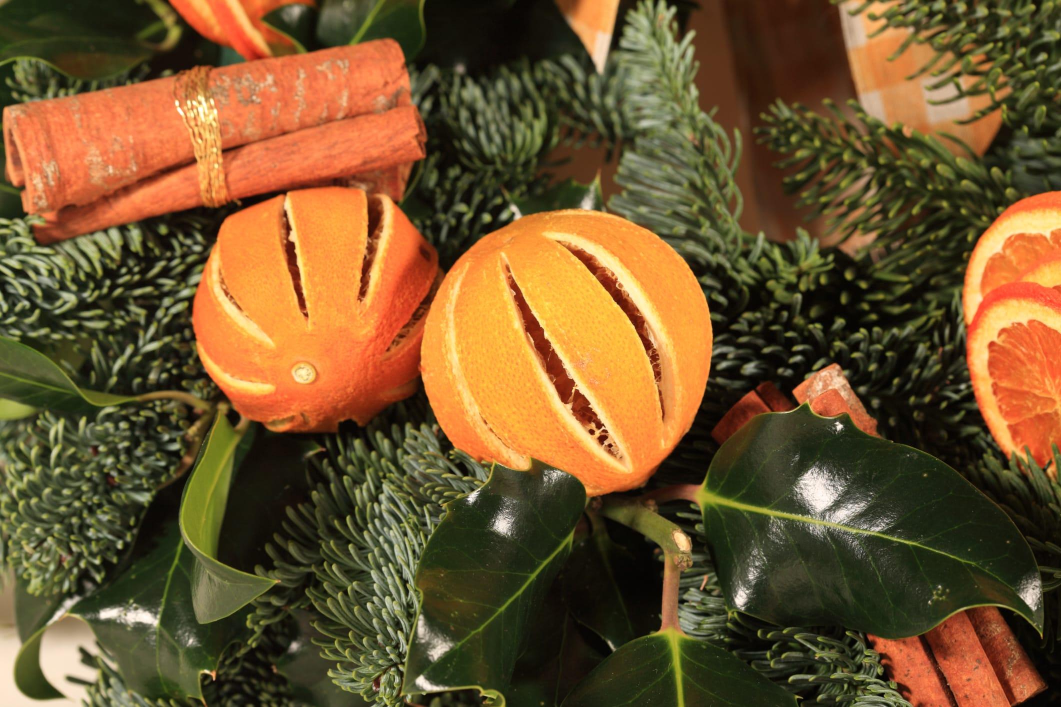 Addobbi Natalizi Con Frutta decorazioni fai da te per albero di natale | foto - non sprecare