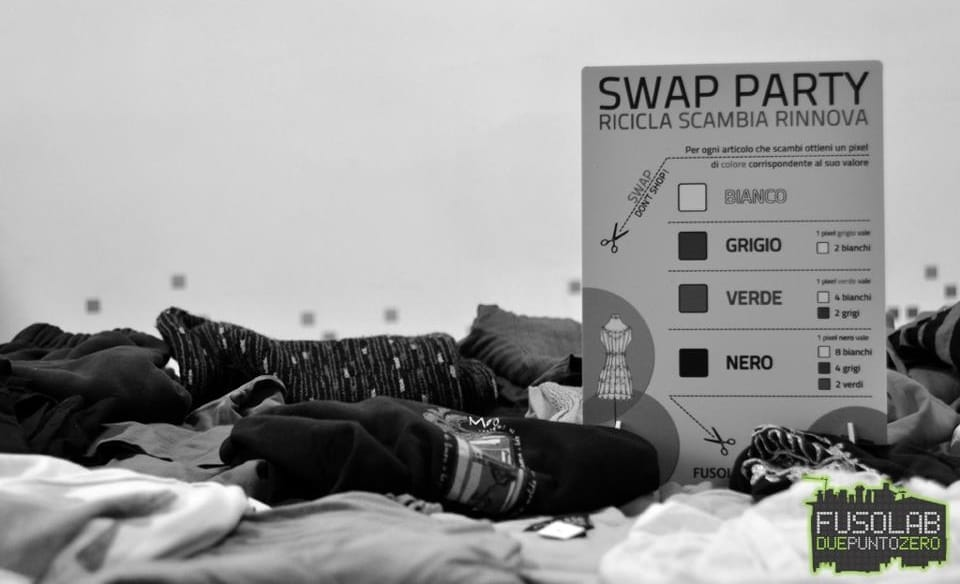 Swap party Roma fusolab 2.0