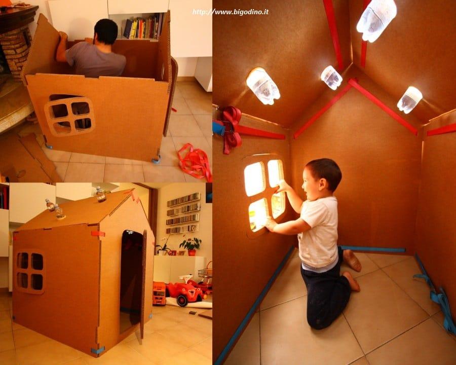 Come Fare Una Casetta Di Cartone Per Bambini Non Sprecare