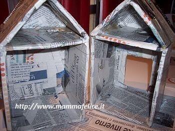 Come fare una casetta di cartone per bambini non sprecare - Costruire una casa sull albero per bambini ...