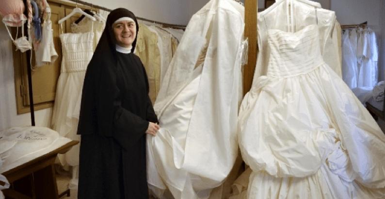 Vestiti Da Sposa Usati Roma.Abito Da Sposa Usato Si Trova In Regalo E Gratis Al Monastero