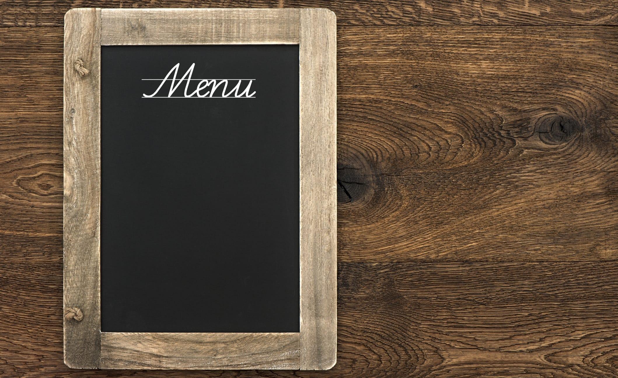 Il menu antspreco di Coldiretti