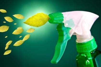 spray ecologico per pulizie