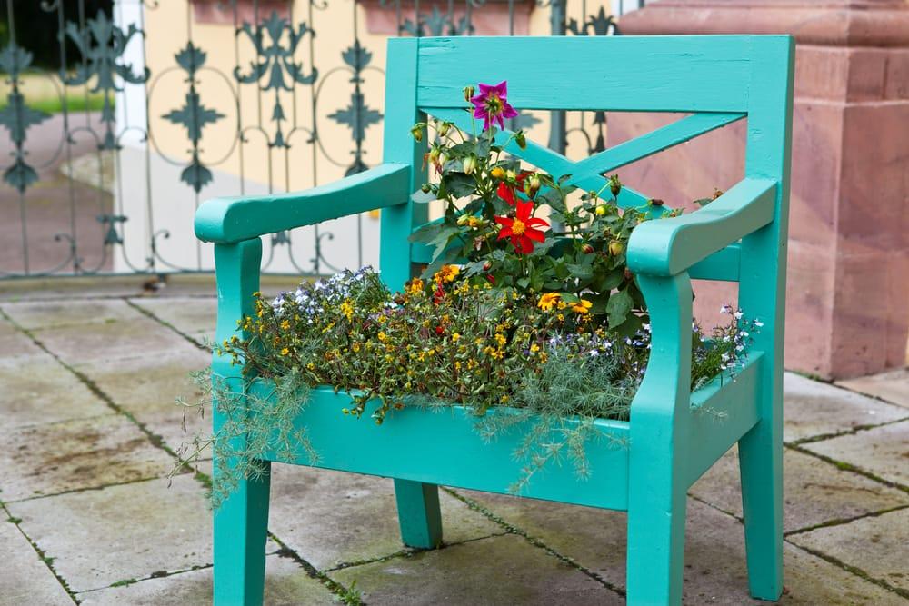 Riciclo creativo sedie Non sprecare