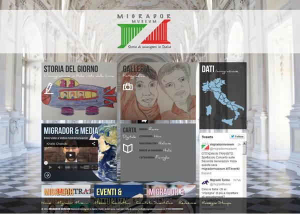 Migrador Museum è il primo museo virtuale dedicato all'immigrazione