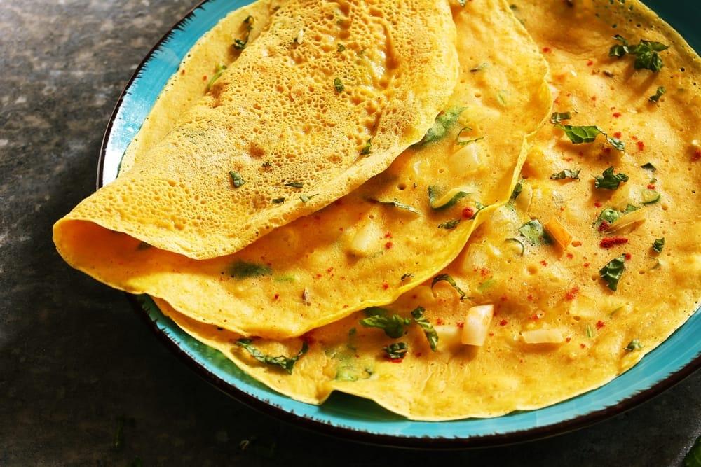 ricetta frittata di ceci senza uova