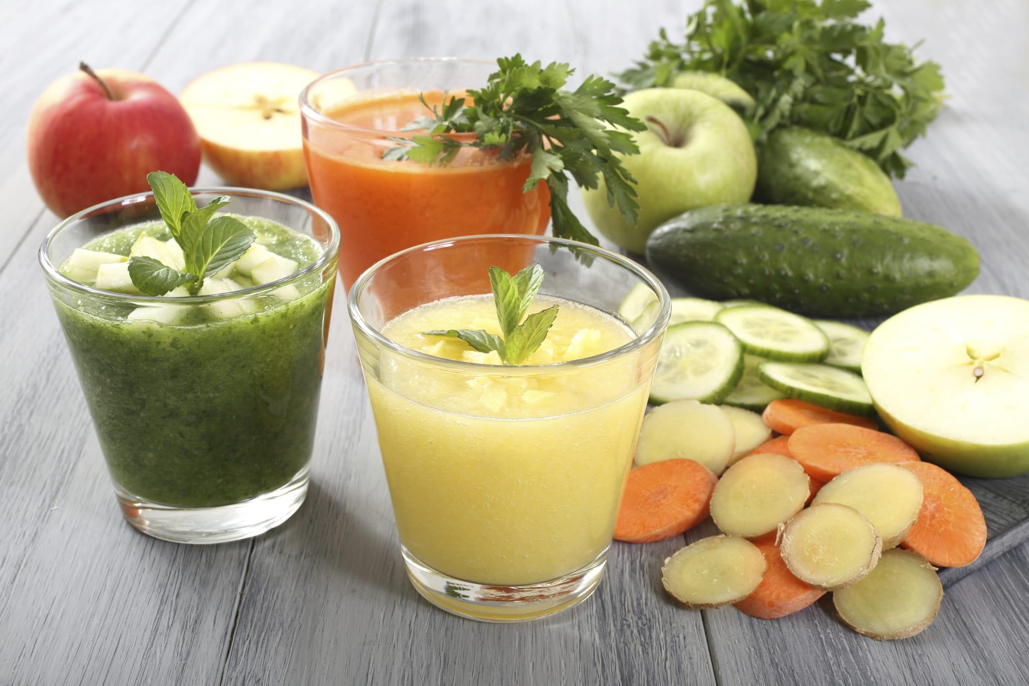 Ricette centrifugati di frutta e verdura fai da te