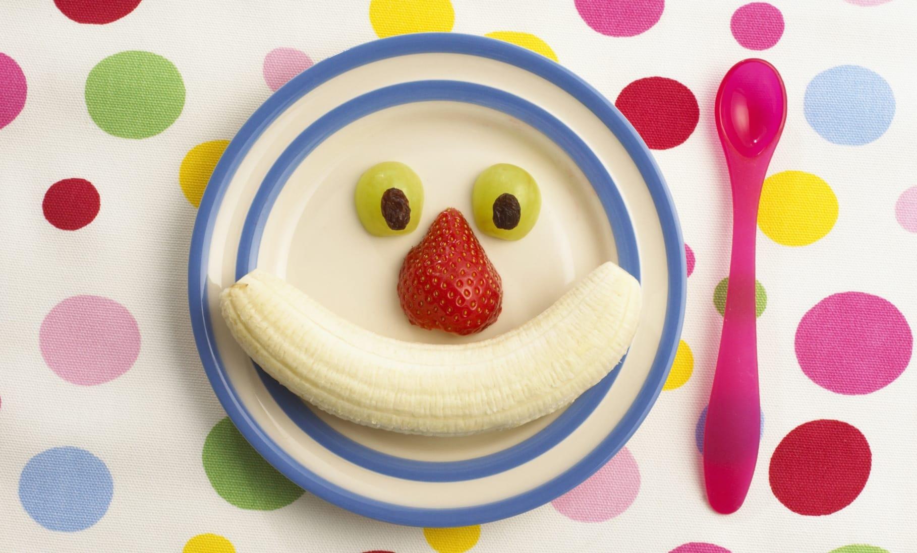 Composizioni Facili Di Frutta idee per far mangiare la frutta ai bambini - non sprecare