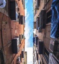 social street via Pavia, Roma