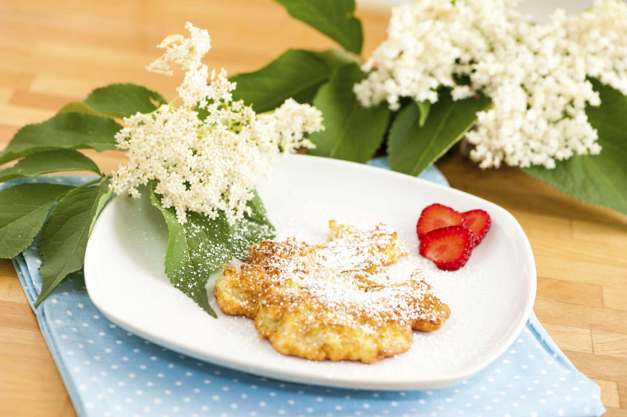 ricetta delle frittelle di fiori di sambuco