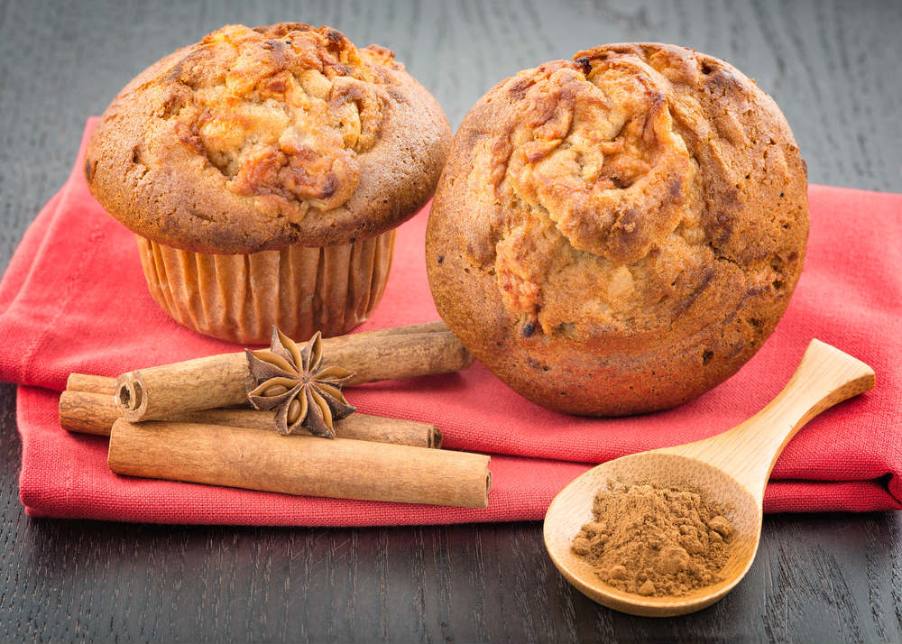 ricetta muffin alle mele senza glutine