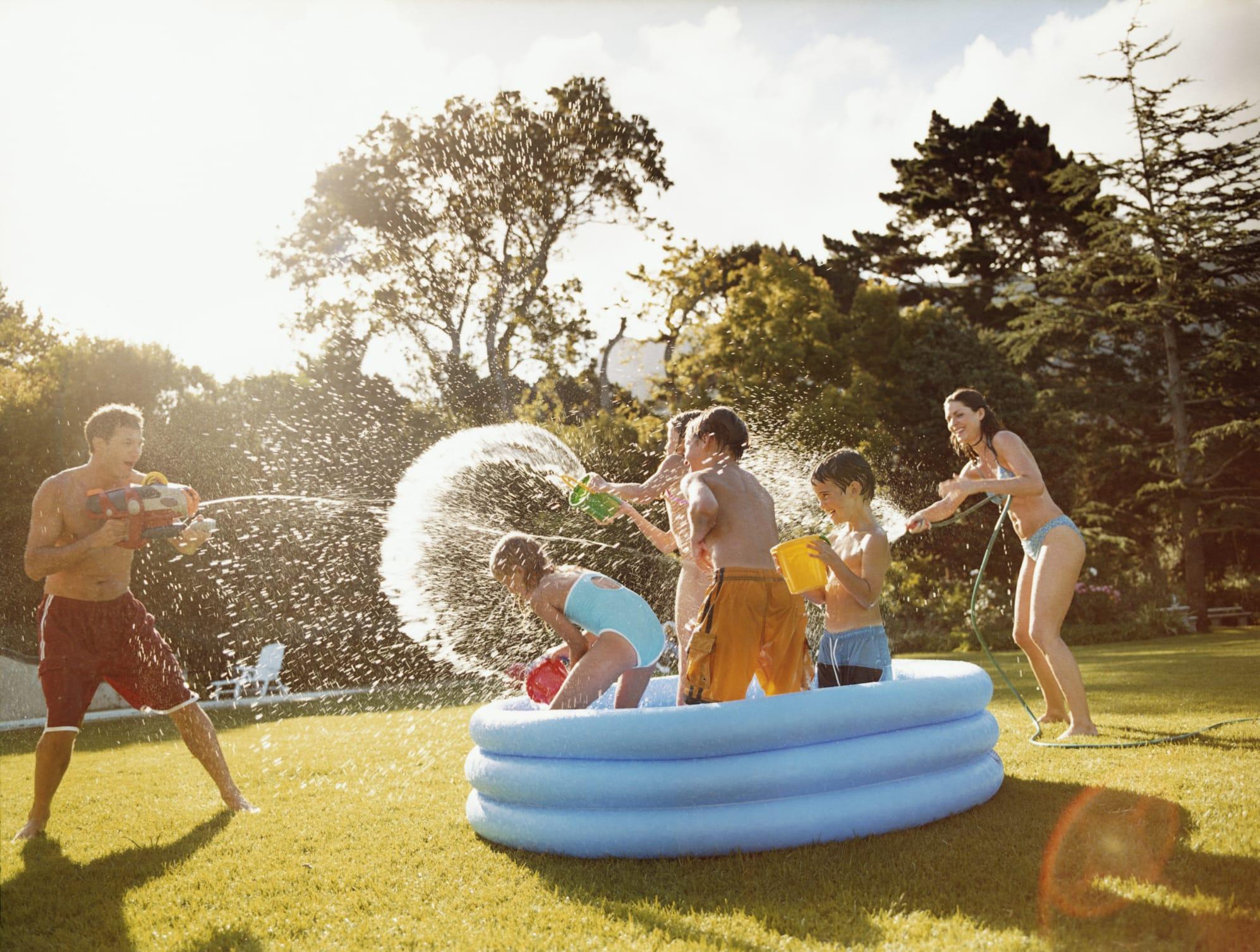 Giochi Per Bambini In Giardino giochi con acqua per bambini - non sprecare