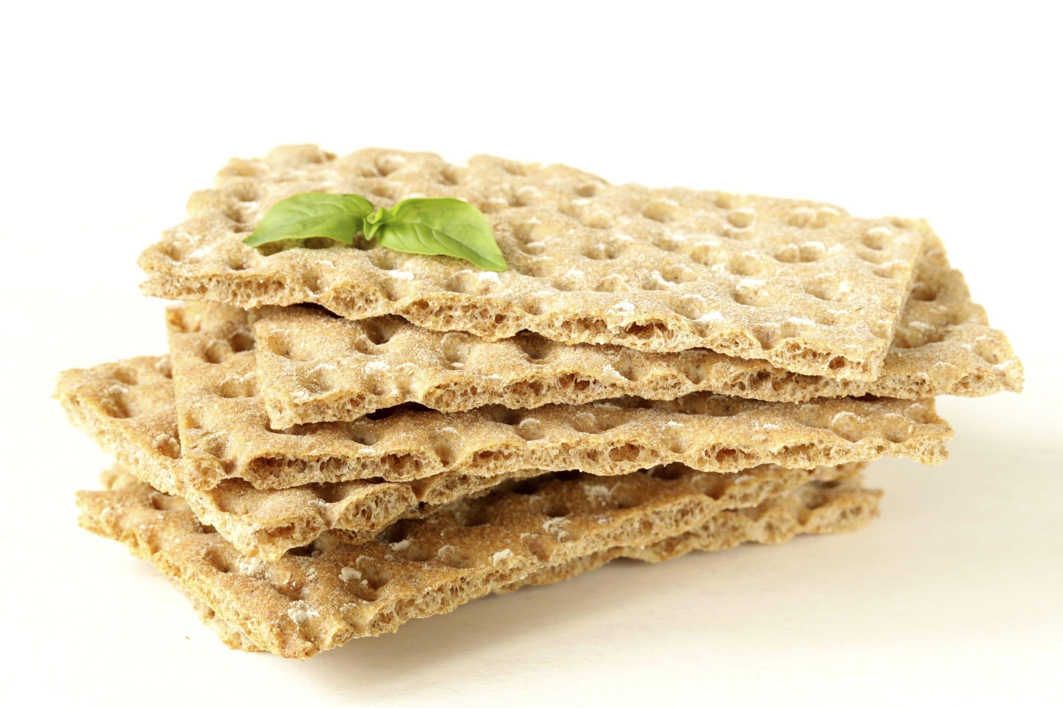 Cracker con lievito madre
