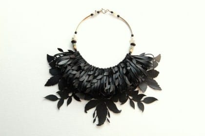 L'eco design di Camilla: gioielli creativi nati dal riciclo delle camere d'aria