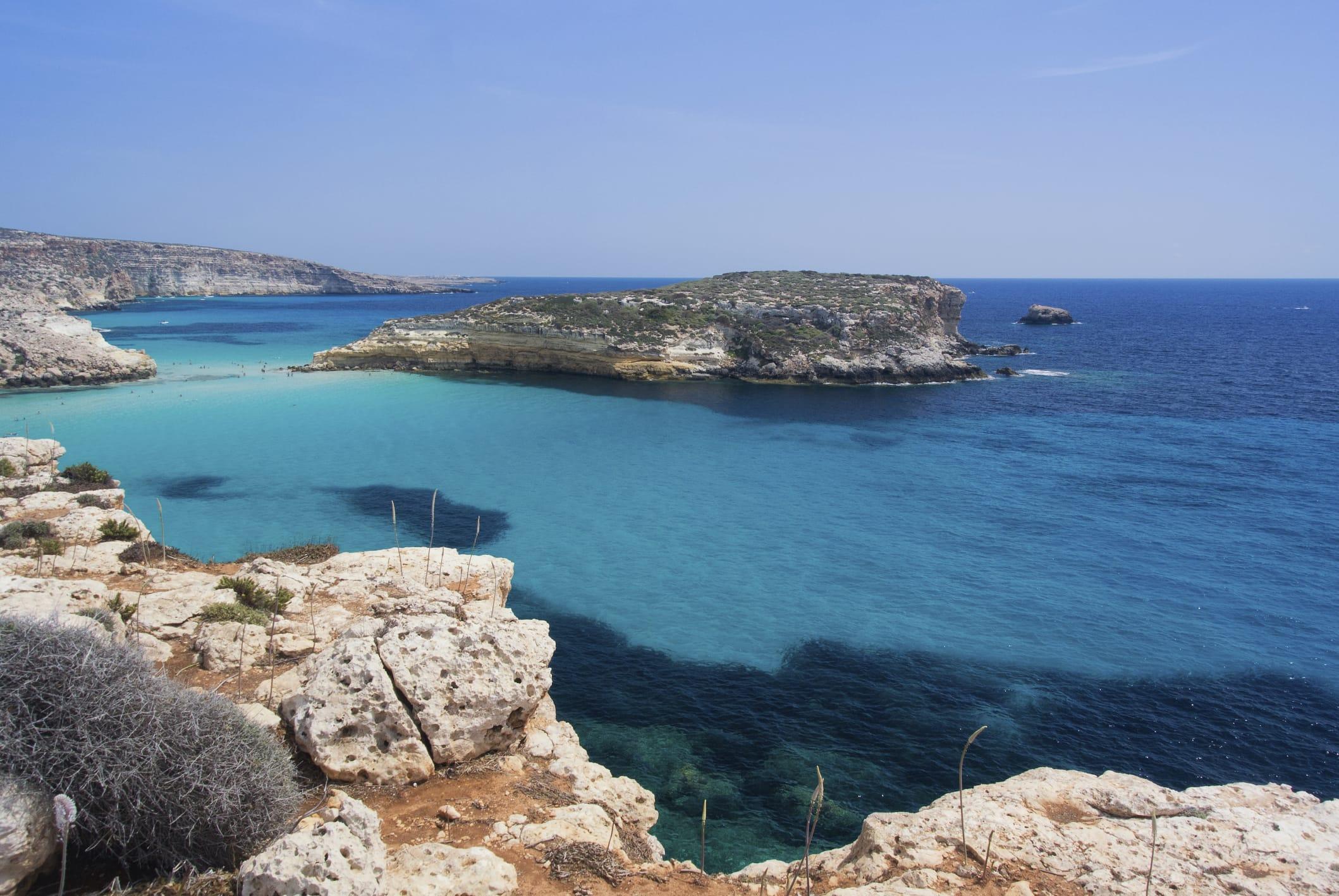 Recupero rifiuti pericolosi: l'isola ecologica del porto di Lampedusa