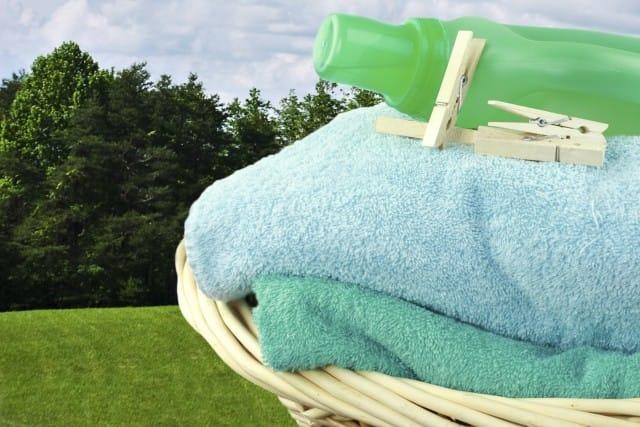 detersivo per bucato con sapone alga