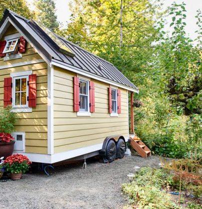 Tiny houses, come costruire una casa dove in pochi metri quadrati c'è tutto