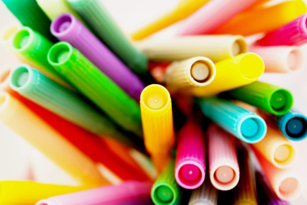 come riciclare pennarelli usati