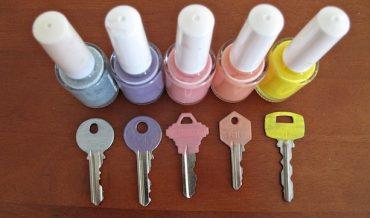 riciclo creativo smalto per unghie