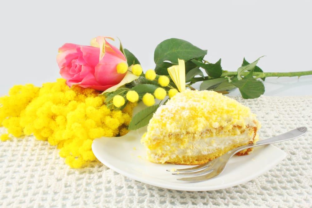ricetta torta mimosa facile