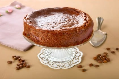 Torta di quinoa e cioccolato