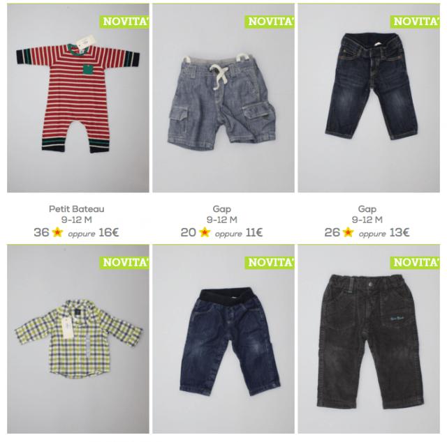 vendita abiti usati