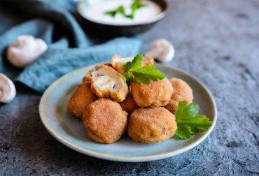 ricetta funghi fritti