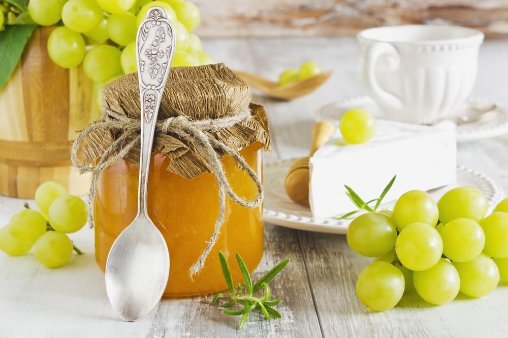 ricetta marmellata di uva