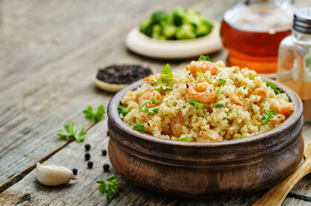 ricette quinoa pesce polpette sformato insalata