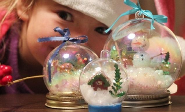 Lavoretti Di Natale Con La Plastica.Lavoretti Di Natale Per Bambini Non Sprecare