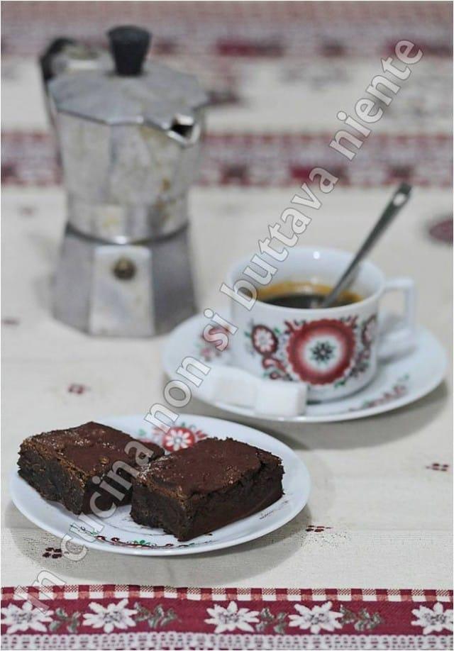 torta al caffè semplice