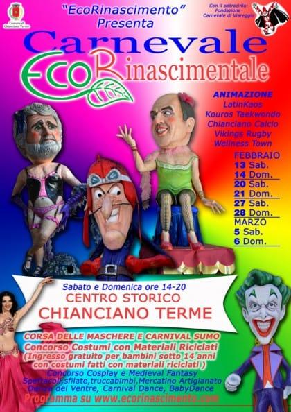 carnevale-chianciano-terme-ecorinascimentale-ecologico-maschere-riciclo