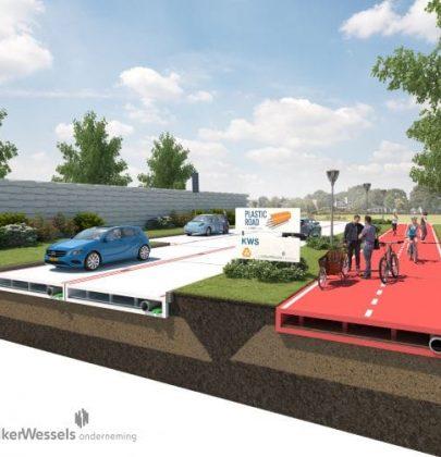 Plastica riciclata, in Olanda ci fanno anche le strade (video)