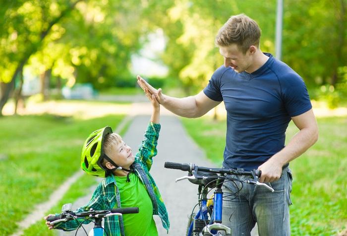 come incoraggiare i figli
