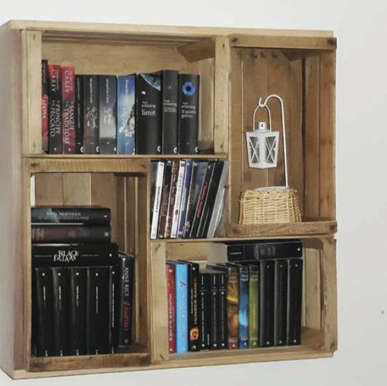 Libreria Fai Da Te.Libreria Fai Da Te In Cartone Non Sprecare