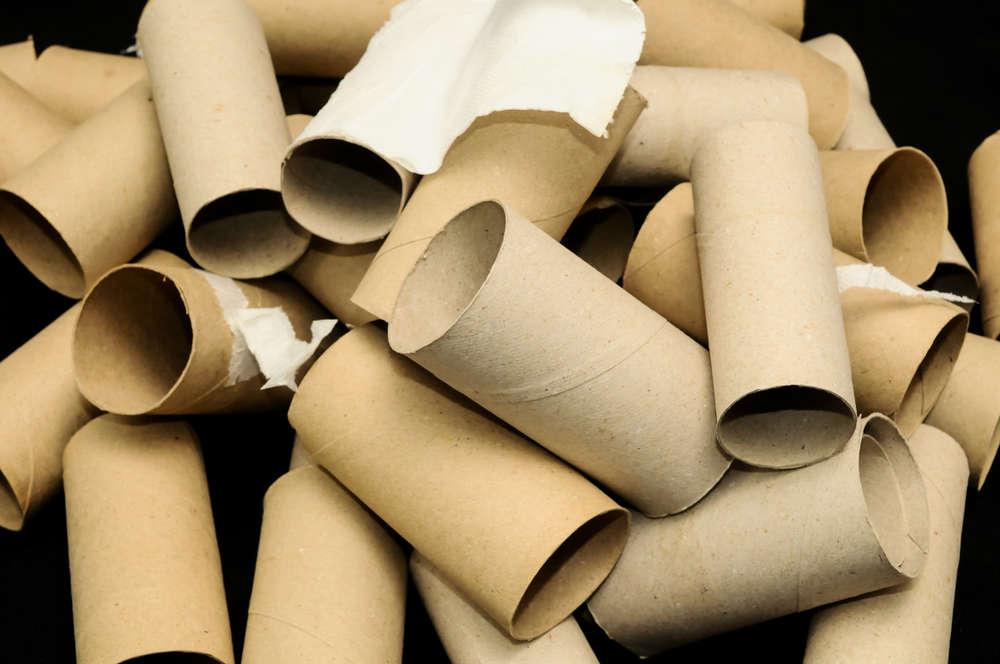 riciclo rotoli di carta igienica