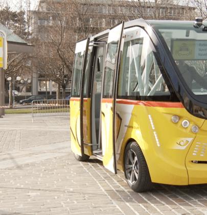 Autobus elettrico senza conducente (video): il primo parte quest'estate in Svizzera