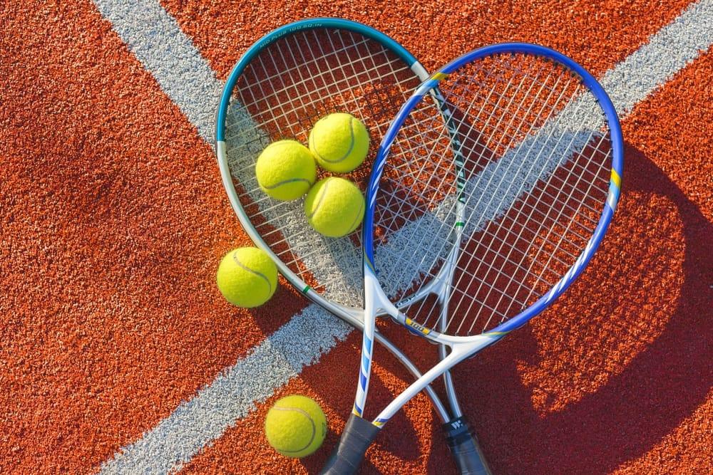 riciclo creativo racchette da tennis