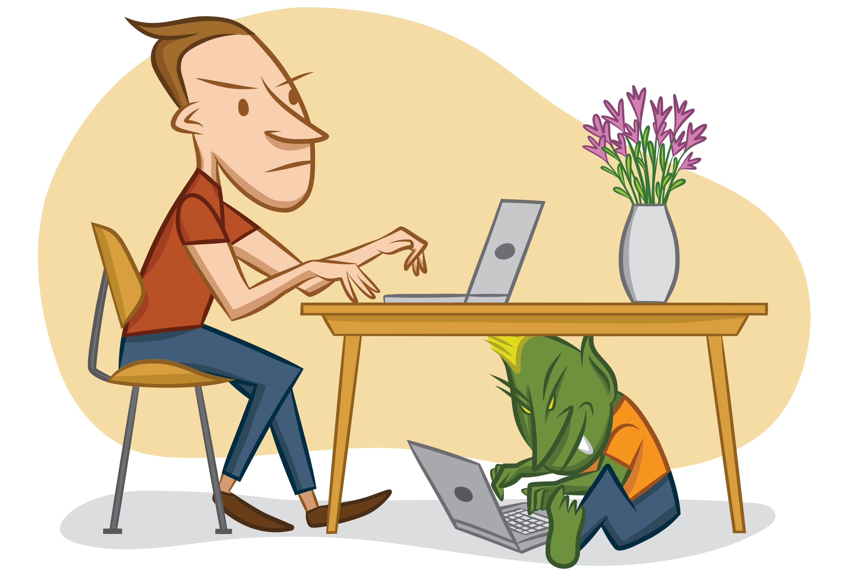troll sul web