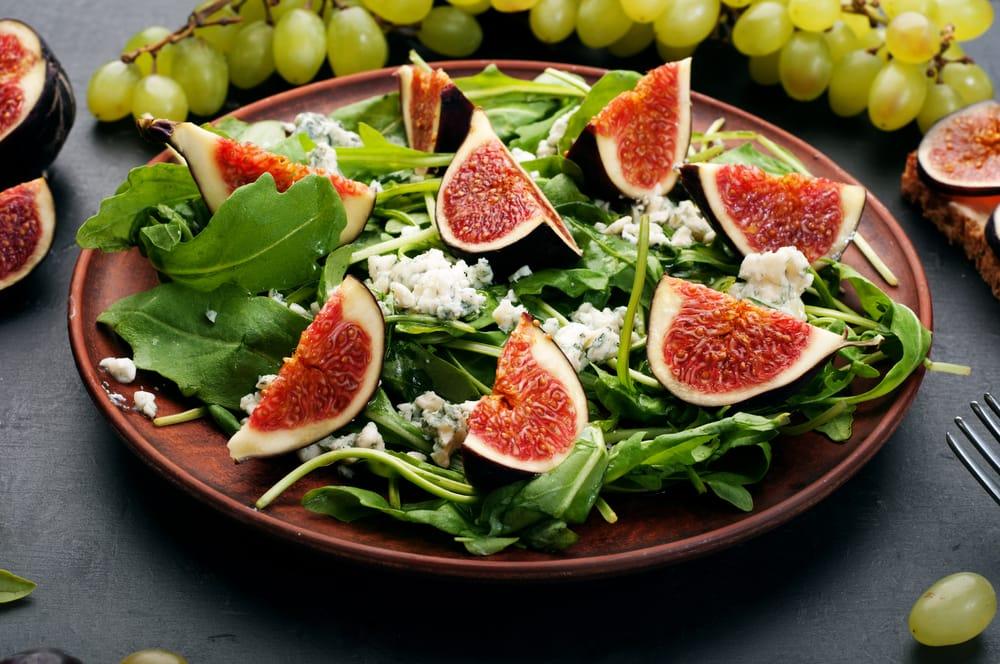 ricetta insalata con fichi