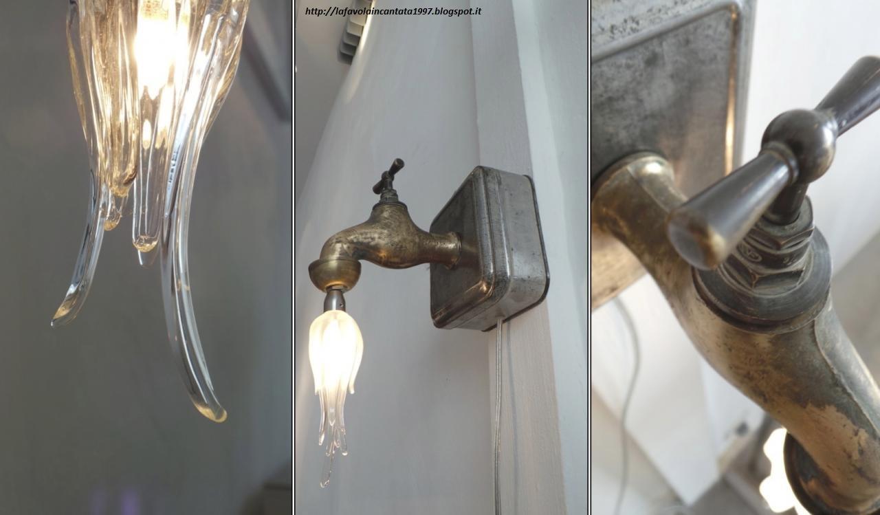 Creare Un Lampadario Di Stoffa lampada da tavolo fai da te - non sprecare
