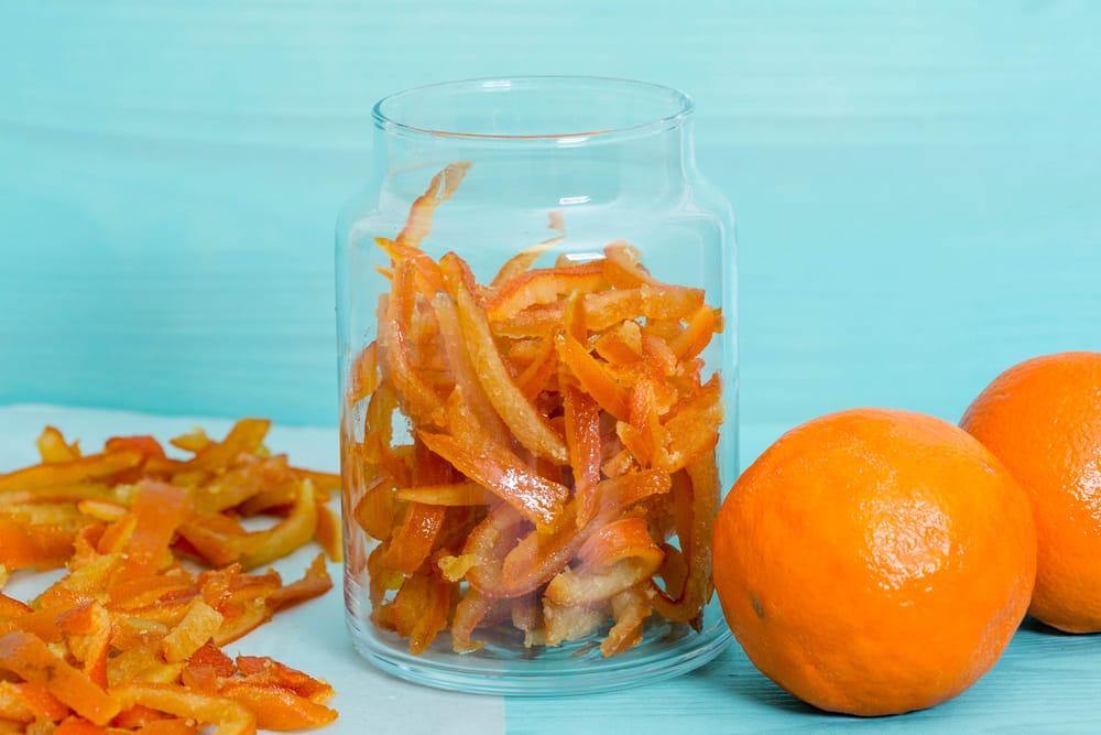 ricetta bucce di arance candite